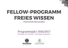 Impact Report of the pilot year of the Open Science Fellows Program (German)