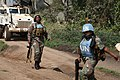 Female combat troops of South African Contingent in MONUSCO on robust foot and moblile patrols 46.jpg