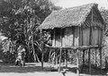Fenerive, ö. Madagaskar. Risbod och hönshus hos betsinuisaraka. Fenerive - SMVK - 001653.tif