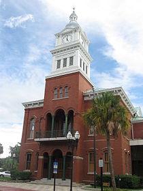 Fernandina Beach, FL, Courthouse, Nassau County, 08-09-2010 (7).JPG