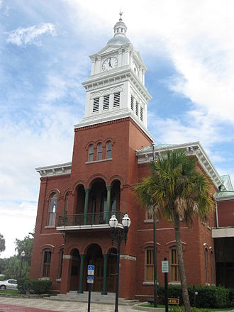 Nassau County, Florida - Image: Fernandina Beach, FL, Courthouse, Nassau County, 08 09 2010 (7)