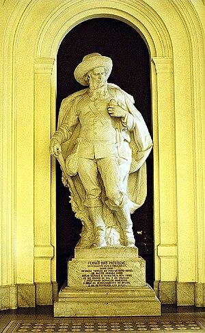 Fernão Dias - Statue of Fernão Dias Pais, Museu Paulista