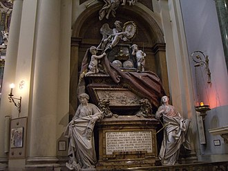 Santa Bárbara, Madrid - Tomb of Ferdinand VI of Spain