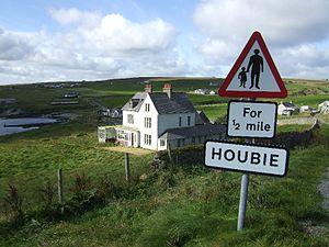 Fetlar - Leagarth House, Houbie