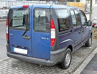 Fiat Doblò - Pre-facelift Fiat Doblò