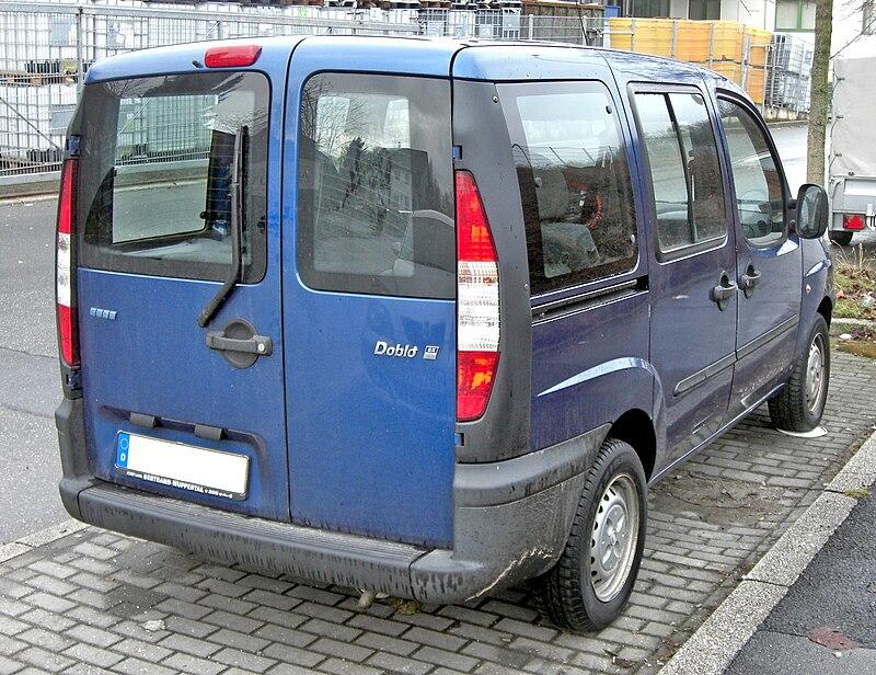 Fiat Doblo rear.JPG