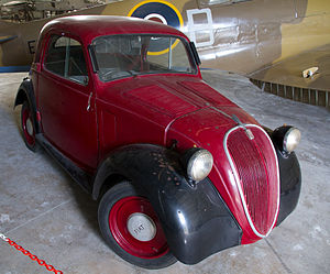Fiat Topolino at Malta Aviation Museum Flickr 6955855681.jpg
