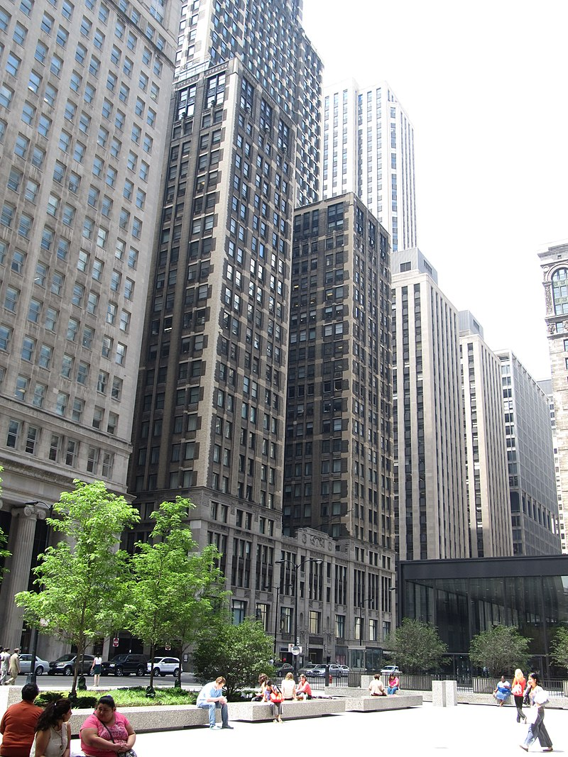 Field Building and Clark and Adams Building, Clark Street, Chicago Loop, Chicago, Illinois (9181561356).jpg