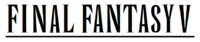 Final Fantasy V wordmark.png
