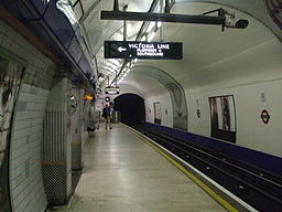 Finsbury Park stn Piccadilly southbound