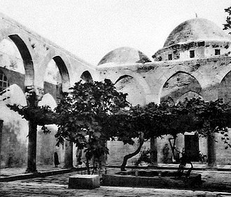 Ayyubid dynasty - The Firdaws Madrasa was built in 1236 under the patronage of Dayfa Khatun