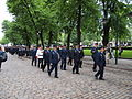 Firemen marching in Helsinki, Finland.jpg