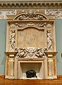 Fireplace by Karl Theodore Francis Bitter, marble - John and Mable Ringling Museum of Art - Sarasota, FL - DSC00834.jpg