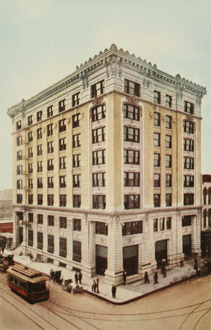 Franklin Lofts - 1913 view - Prior to 1925 addition