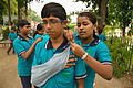 First Aid and Emergency Management Session - Summer Camp - Nisana Foundation - Sibpur BE College Model High School - Howrah 2013-06-08 9190.JPG