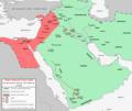 First Fitna Map, Ali-Muawiya Phase.png