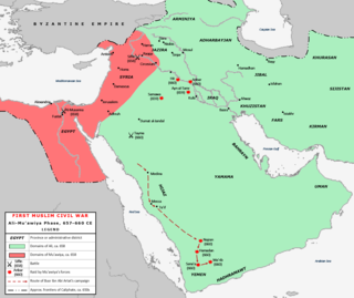 First Fitna Civil war within the Rashidun Caliphate