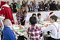 First Lady Melania Trump at a Toys for Tots Christmas Event (45376639225).jpg