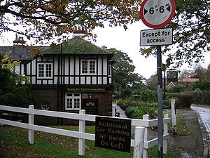 Fishbourne, Isle of Wight - The Fishbourne Inn, near the Wightlink terminal.