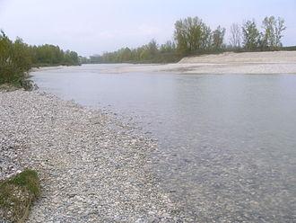 Torre (river) - Torre River, near Tapogliano, Italy