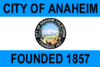 Flag of Anaheim, California