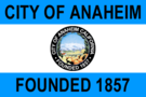 Flag of Anaheim, California (1967–2018).png