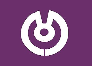 Fujiidera, Osaka - Image: Flag of Fujiidera Osaka