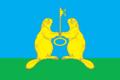 Flag of Lazurnensky (Krasnoyarsk krai).png