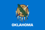 Flag of Oklahoma (April 21, 1925, standardized April 21, 2006)
