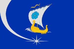 Puchezhsky District - Image: Flag of Puchezhsky rayon (Ivanovo oblast)