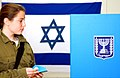 Flickr - Israel Defense Forces - Female Soldier Votes in Israeli Government Elections.jpg