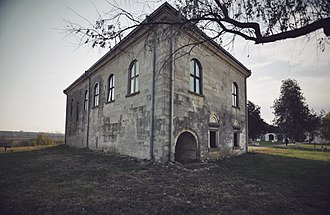 Udriște Năsturel - Năsturel manor in Herăști, 2011 photograph
