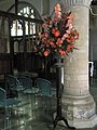 Floral display within St John's, Winchester - geograph.org.uk - 1544238.jpg