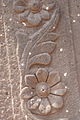 Flower motif on the walls, Murud Janjira Fort.JPG