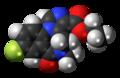 Flumazenil molecule spacefill.png
