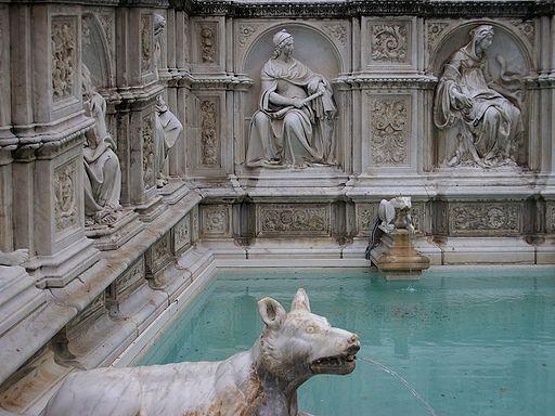 Font Gaia, Siena
