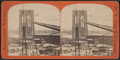 Foot bridge and tower of East River bridge, from Robert N. Dennis collection of stereoscopic views.png