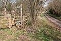 Footpath to Honeymoor Common - geograph.org.uk - 149733.jpg