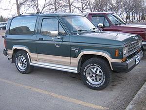 Ford Bronco II - Ford Bronco II, Eddie Bauer trim