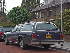 Ford LTD Crown Victoria - Ford LTD Crown Victoria wagon