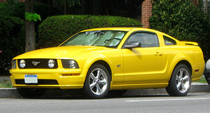 Sid Ramnarace - Image: Ford Mustang GT coupe 07 30 2009
