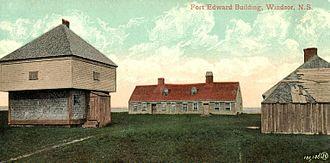 Fort Edward (Nova Scotia) - Fort Edward c. 1900