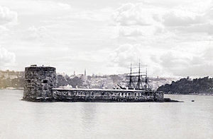 Fort Denison - Image: Fort Denison c 1885