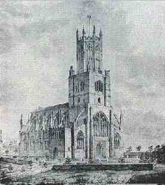 Fotheringhay - Fotheringhay Church