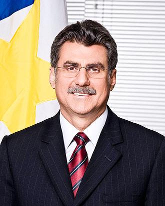 2016 Brazilian municipal elections - Image: Foto oficial de Romero Jucá