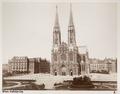 Fotografi av Votivkirche i Wien, Österrike - Hallwylska museet - 103106.tif