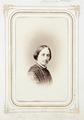 Fotografiporträtt på Amalia von Bülow, f. Wallis, 1860-tal - Hallwylska museet - 107807.tif