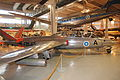 Fouga CM 170 Magister (FM-45) Keski-Suomen ilmailumuseo 5.JPG