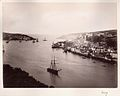 Fowey, Cornwall - estuary with ships of all sizes, late 1800s? (4487637408).jpg