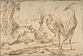Fox With Two Herons MET DP802350.jpg